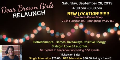 Dear Brown Girls...reLaunch Party tickets