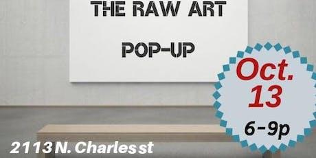 Raw Art  pop-up exhibition tickets