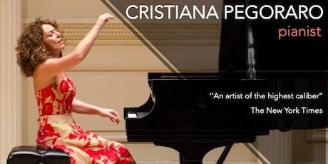 Cristiana Pegoraro - Pianist In Concert tickets