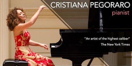 Cristiana Pegoraro - Pianist In Concert