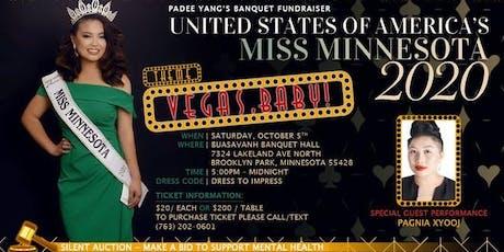 Vegas, Baby! - USOA's Miss MN Padee Yang's Banquet Fundraiser tickets