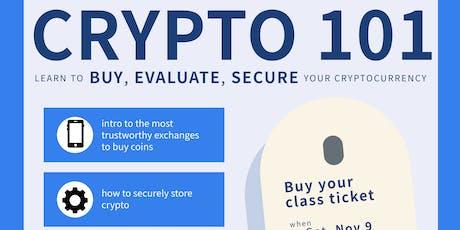 Crypto 101 Class tickets