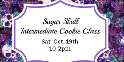 Sugar Skulls Intermediate Cookie Class