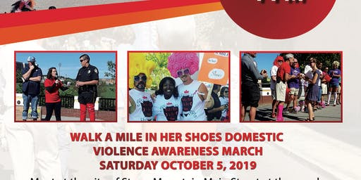 Walk a Mile in Her Shoes®  Domestic Violence Awareness March