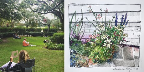 Urban Landscapes: Drawing & Watercolor Class for Adults | Thursdays of October  tickets