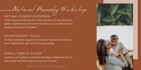 Natural Remedy Workshop for the Common Childhood Illness tickets