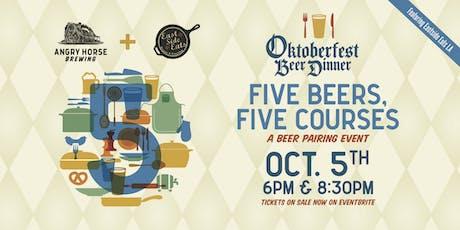 Five Beers, Five Courses: An Oktoberfest Beer Dinner tickets