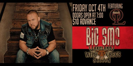 Big Smo live at Wild Greg's Saloon Featuring Oaklee tickets