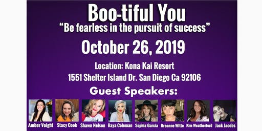 BOO-tiful YOU- Be fearless in the pursuit of success