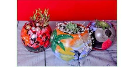 Plant & Paint Terrariums (2019-10-16 starts at 7:30 PM) tickets