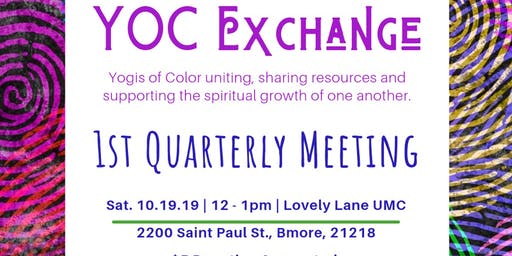 YOC Exchange First Quarterly Meeting!!