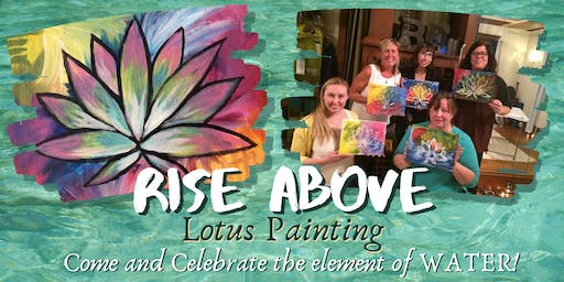 Rise Above Lotus Painting