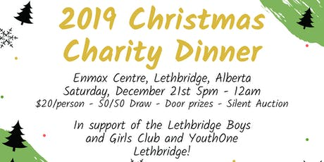 2019 Christmas Charity Dinner tickets