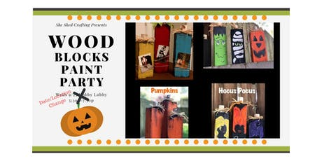 Wood Blocks Paint Party tickets