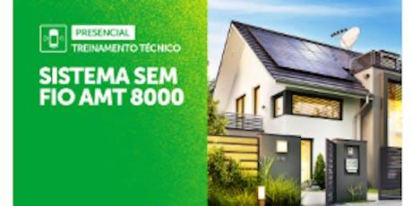 TREINAMENTO TÉCNICO CENTRAL AMT 8000 ingressos