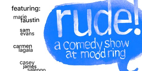 Rude Comedy tickets