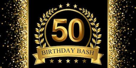 WL. MORRIS' ALL BLACK & GOLD 50th BDAY CELEBRATION tickets