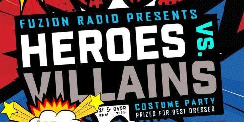 HEROES VS. VILLAINS HALLOWEEN COSTUME PARTY