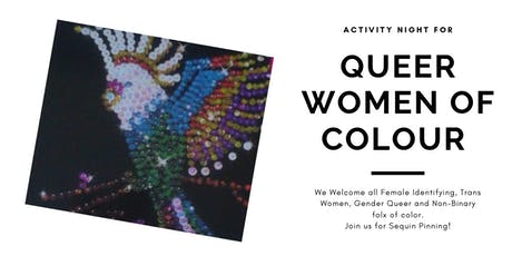 Queer Women of Colour Activity Night tickets