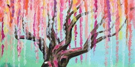 Weeping Willow (2hr Paint & Sip Session)- BYO Food & Drink tickets