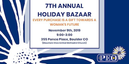 P.E.O. Holiday Bazaar
