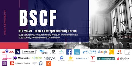 BSCF 2019 | Tech and Entrepreneurship Forum tickets