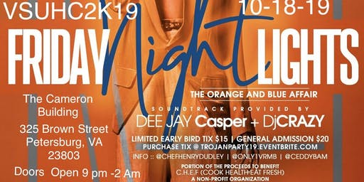VSU Homecoming 2019 Friday Night Lights Orange & Blue Affair