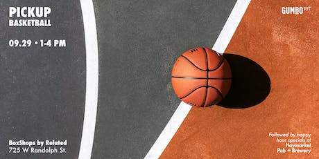 Pick-up Basketball  + Happy Hour tickets