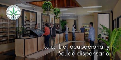 Combo: Lic. Ocupacional y Técnico Dispensario (Ponce)