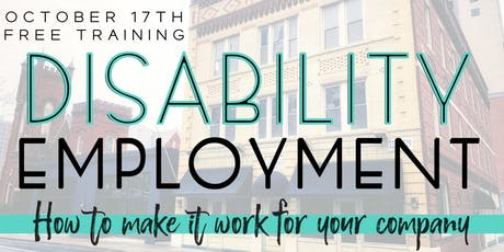 Free Disability Employment Training w/ OFCCP, EEOC, & Industry Leaders tickets