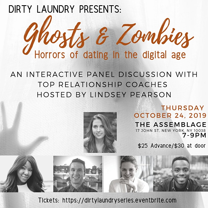 Dirty Laundry: Ghosting, Zombies and the Horrors of Digital Dating image