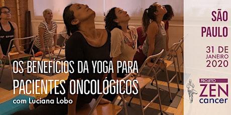 Instituto ZENcancer - Os benefícios da yoga para pacientes oncológicos ingressos