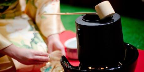 Cérémonie de thé japonaise / Japanese tea ceremony - Omotesenke / Urasenke tickets