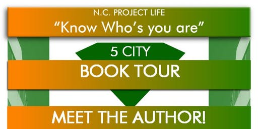 5 City Book Tour