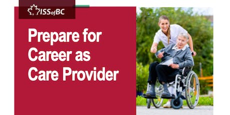 Prepare for Career as Care Provider tickets