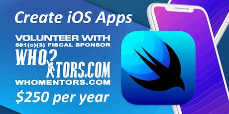 Volunteer as an iOS developer for a 501(c)(3) organization tickets