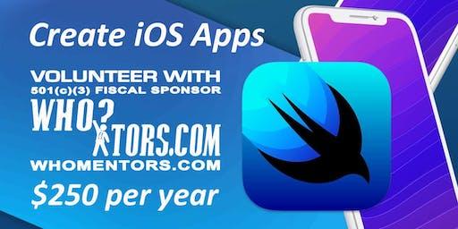Volunteer as an iOS developer for a 501(c)(3) organization
