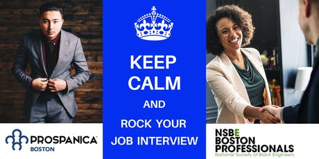 Keep Calm and Rock Your Interview tickets