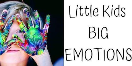 Little Kids Big Emotions Shepparton Workshop tickets