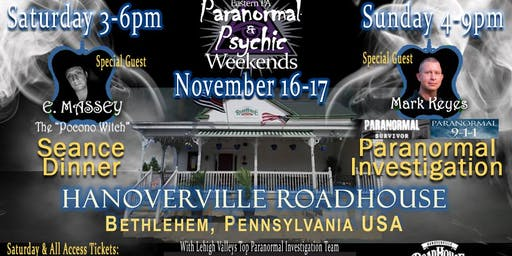Paranormal & Psychic Weekends - Handovervile Roadhouse