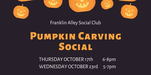 Pumpkin Carving Social