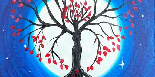Full Moon Goddess Paint Party @ Station Gallery