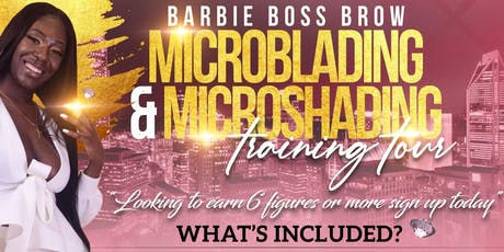 Microblading Training Course - $899 tickets