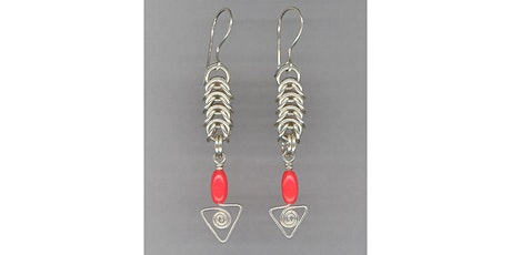 Square Maille Earrings tickets