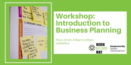 Introduction to Business Planning tickets