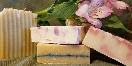 Soap Making Workshop with Herbalist Angela Segraves