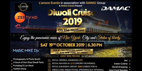 Diwali Cruise 2019 on the Hudson tickets