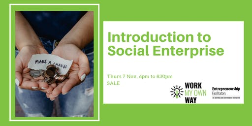 Introduction to Social Enterprise