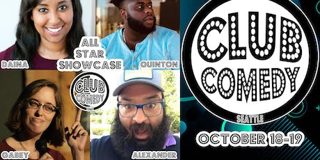 All Star Showcase Friday 8:00PM 10/18 tickets