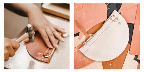 Leathercraft: Make Your Own Zip Pouch - October Course (2-Saturdays) tickets